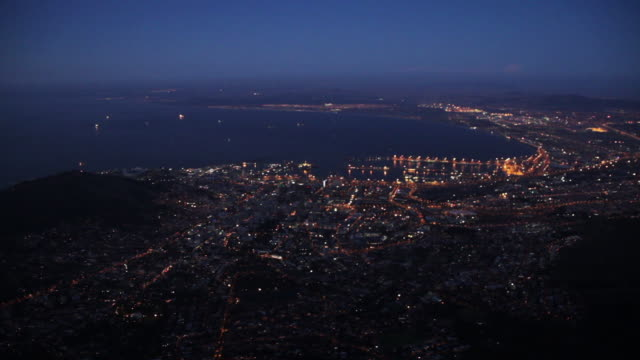 Cape Town, South Africa aerial