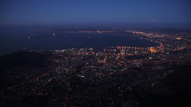 vídeos y material grabado en eventos de stock de cape town, south africa aerial - provincia occidental del cabo