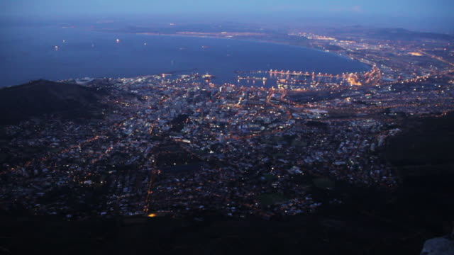 cape town, south africa aerial - cape town stock videos & royalty-free footage