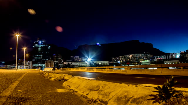 Cape Town Traffic Timelapse