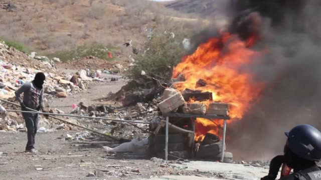 cape verdean police burn 95 tonnes of cocaine seized in praia on a ship whose 11 crew members all russian were brought before a judge according to an... - praia stock videos & royalty-free footage