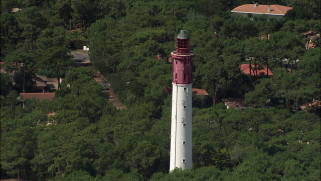 cap-ferret lighthouse - cap ferret stock videos & royalty-free footage
