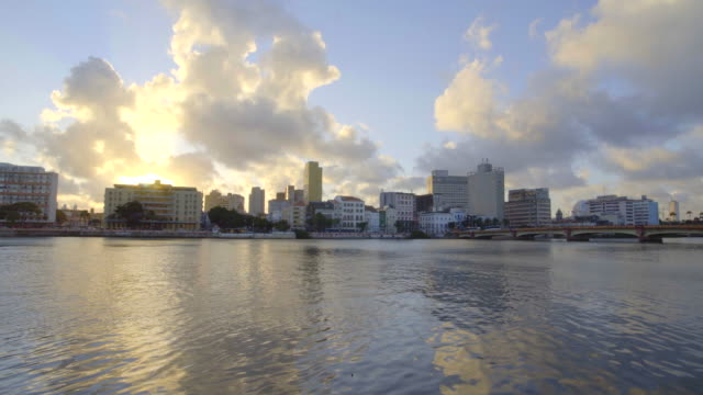 capibaribe river at recife in pernambuco, brazil - northeastern brazil stock videos and b-roll footage