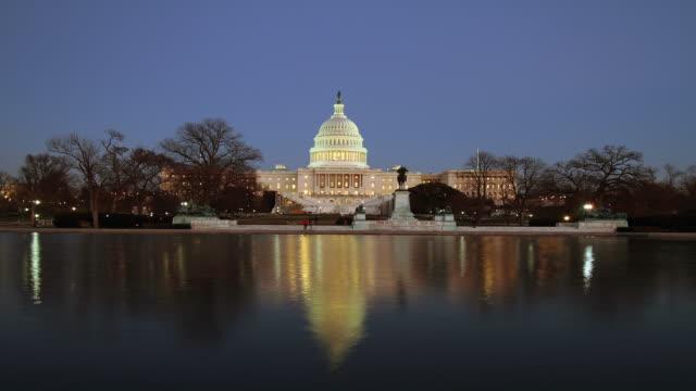 U.S, Capital building Time Lapse