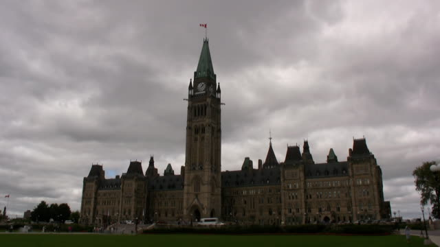 capital ottawa/canada - parliament hill stock videos and b-roll footage