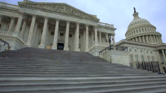 u.s. capitol building and house of representatives in washington, dc - senator stock videos & royalty-free footage