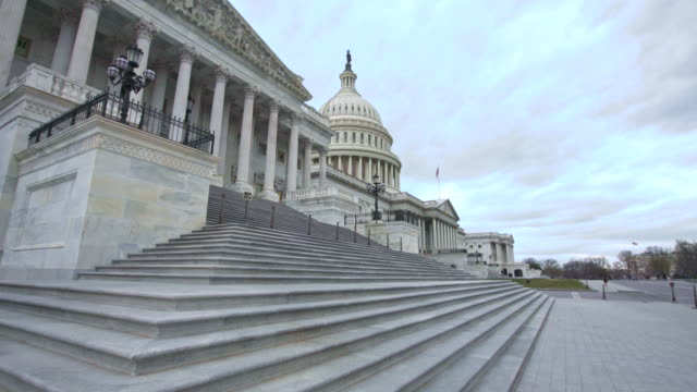 u.s. capitol building house of representatives walking up steps in washington, dc - steps stock videos & royalty-free footage