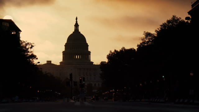 Capitol Building in the early morning, Washington D.C, USA