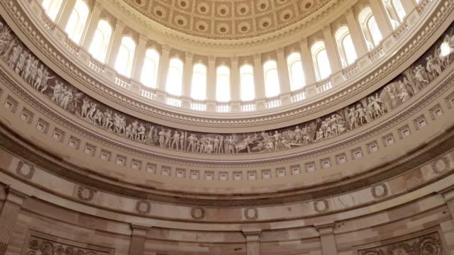 US Kapitol Rundbau in Washington, DC - 4k/UHD