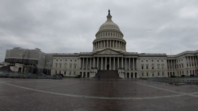 us capitol building - united states congress stock-videos und b-roll-filmmaterial