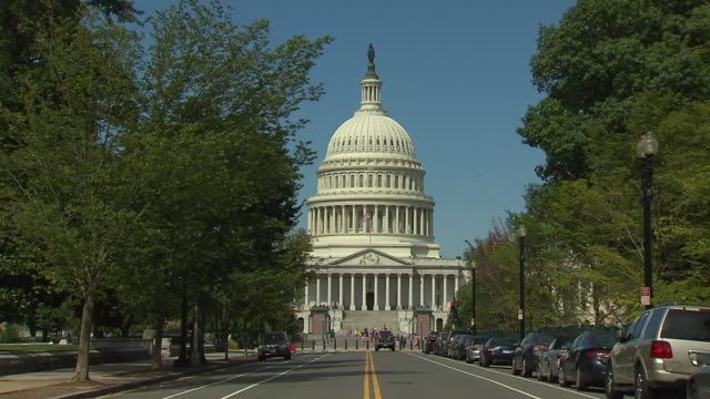 u.s capitol building - kapitol capitol hill stock-videos und b-roll-filmmaterial