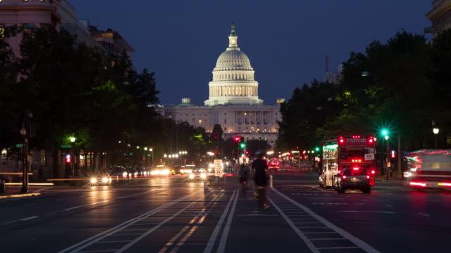 capitol building - påle bildbanksvideor och videomaterial från bakom kulisserna