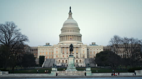 capitol building washington daytime tight - real time stock videos & royalty-free footage