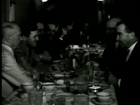 s capitol building washington dc int vs texas politicians at dinner restaurant congressmen talking cigar speaker of the us house of representatives... - sam rayburn video stock e b–roll