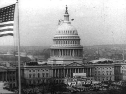 B/W 1933 US Capitol Building / Washington DC