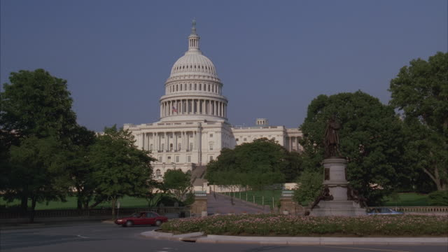 ws, capitol building, washington dc, washington, usa - united states senate stock videos & royalty-free footage