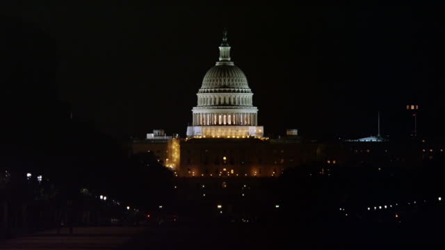 US Capitol Dome at night. Shot in 2012.