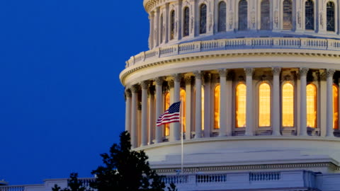 capitol hill, washington dc - united states congress stock videos & royalty-free footage