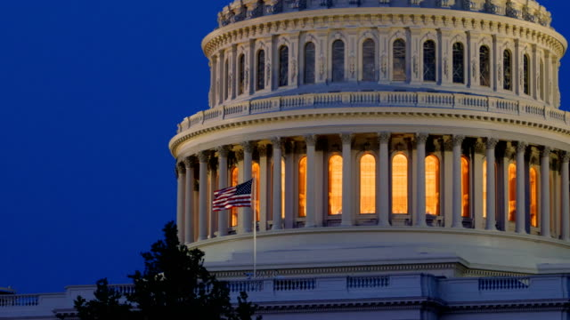 kapitol, washington dc - united states congress stock-videos und b-roll-filmmaterial