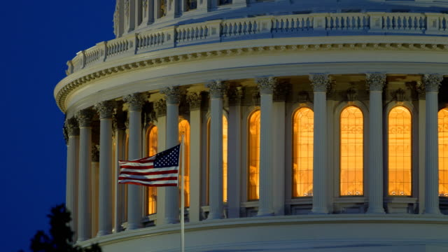 capitol hill, washington dc - united states senate stock videos & royalty-free footage