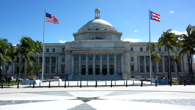 capitol of puerto rico - government building stock videos & royalty-free footage