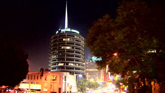 KTLA Capitol Records Building in Los Angeles