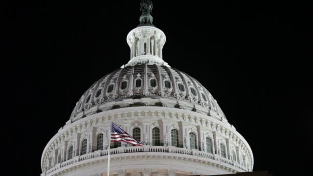 米国国会議事堂 - アメリカ合衆国上院点の映像素材/bロール