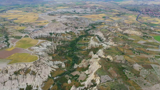vidéos et rushes de cappadocia city scenery / cappadocia, turkey - turquie