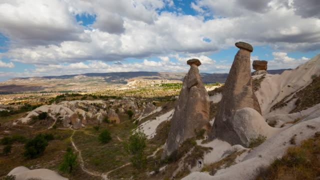 4K: Cappadocia, rocks in the form of stone mushrooms