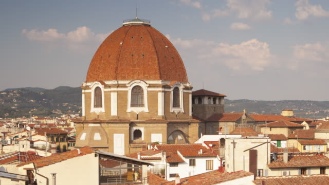 cappelle medicee or medici chapels in florence. - chapel stock videos & royalty-free footage
