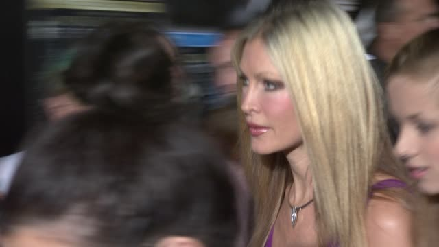 caprice at the michael jackson: the life of an icon world premiere at london england. - caprice bourret video stock e b–roll