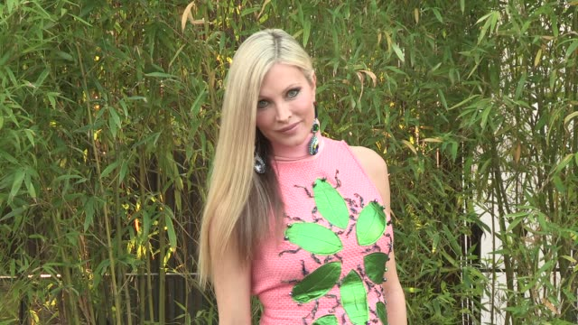 caprice bourret arriving for the summer party at the serpentine gallery on june 26, 2013 in london, england - caprice bourret video stock e b–roll