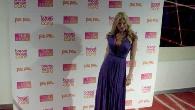 caprice bourret at breast cancer care show london in association with folli follie- evening show at park plaza westminster bridge hotel on november... - caprice bourret video stock e b–roll