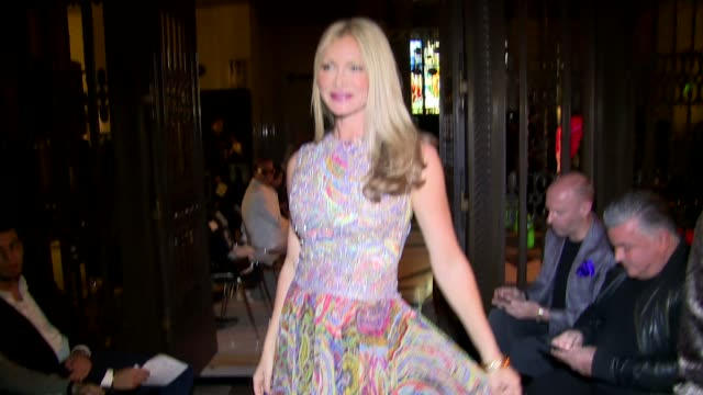 caprice bourret at the freemason's hall on september 17, 2016 in london, england. - caprice bourret video stock e b–roll