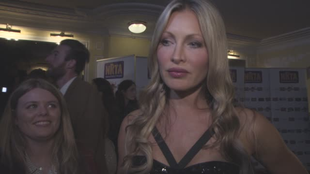 caprice bourret on being at the awards at national reality tv awards at porchester hall on september 30, 2015 in london, england. - caprice bourret video stock e b–roll