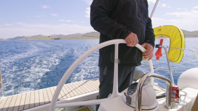 Capitaine WS naviguer un voilier sur la mer