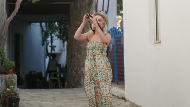 capturing memories - sundress stock videos & royalty-free footage