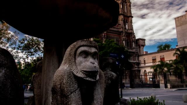 Iglesia timelapse capuchino