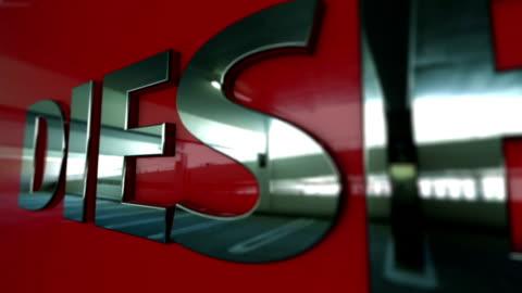 car badge series - diesel - capital letter stock videos & royalty-free footage