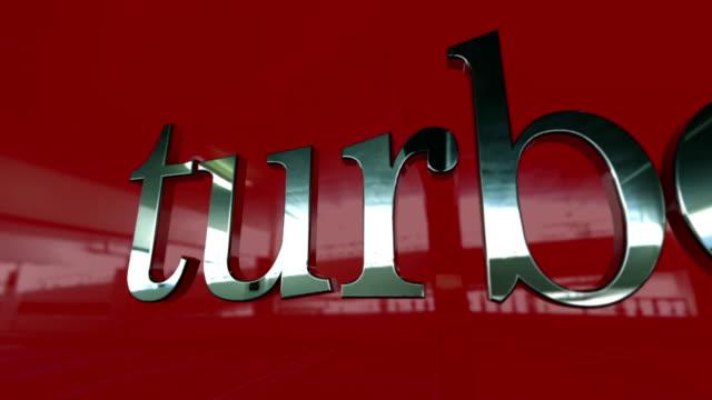 Auto badge serie - Turbo