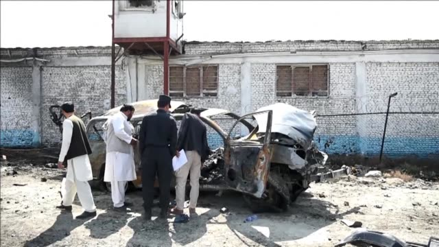 a car bomb explosion claimed by the taliban in kabul on saturday killed at least two civilians as the militants maintain pressure on the capital amid... - civilian stock videos & royalty-free footage