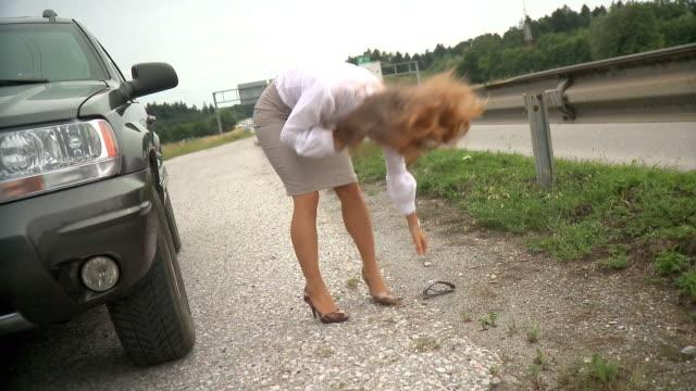 hd: car breakdown - vehicle breakdown stock videos & royalty-free footage