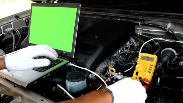 car checking - electronics industry stock videos & royalty-free footage