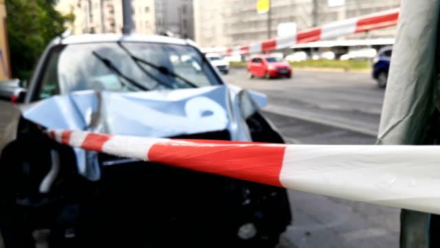 vídeos y material grabado en eventos de stock de accidente automovilístico - accidente de tráfico
