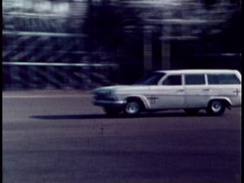 1970 ts car crashing into barrier during crash test / united states - crash test stock videos & royalty-free footage