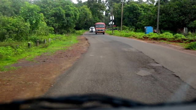 car drive in goa - goa stock videos & royalty-free footage