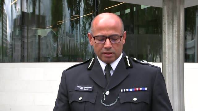 Car driven into barriers outside Houses of Parliament ENGLAND London New Scotland Yard EXT Assistant Commissioner Neil Basu speaking to press SOT It...