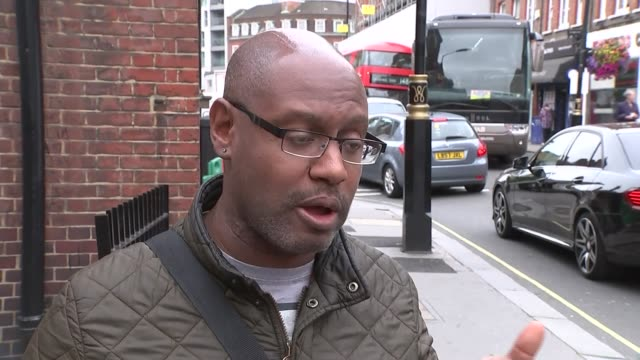 Car driven into barriers outside Houses of Parliament ENGLAND London Westminster EXT Jason Williams interview SOT