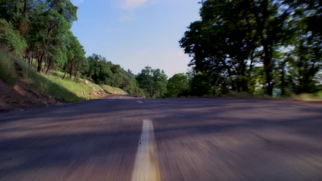 pov car driving fast on coastal road, hollywood, california, usa - coastal road stock videos & royalty-free footage