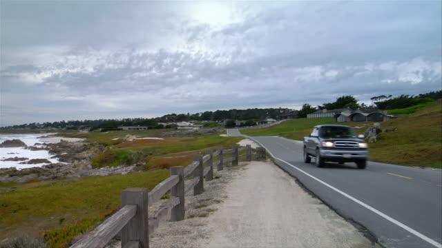 MS, PAN, Car driving on Drive Route 8, Mile Beach, California, USA